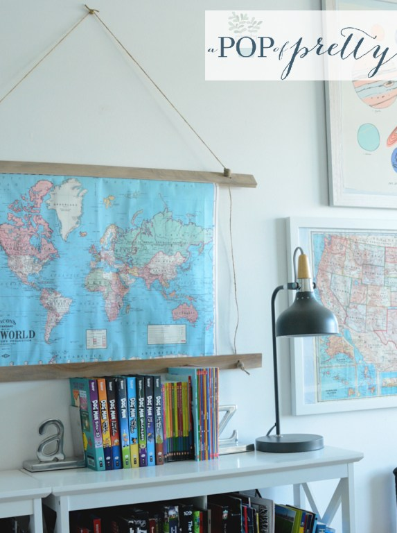 how to make a map frame