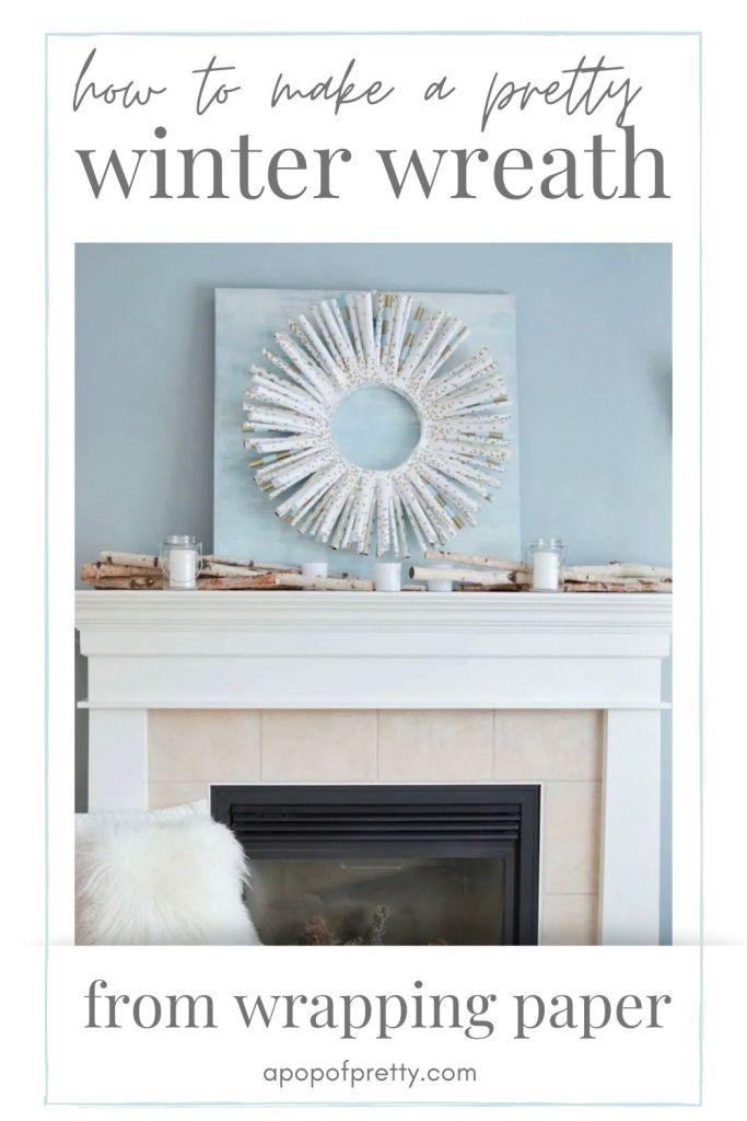 winter wreath idea