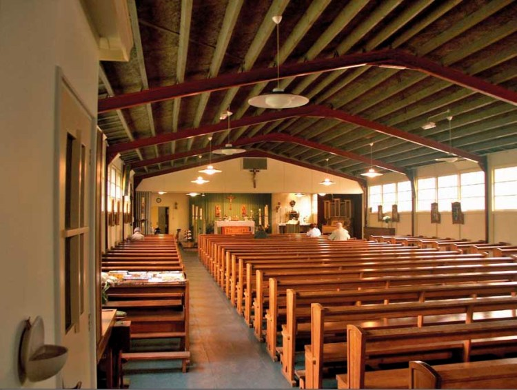 Interieur Apostelkerk