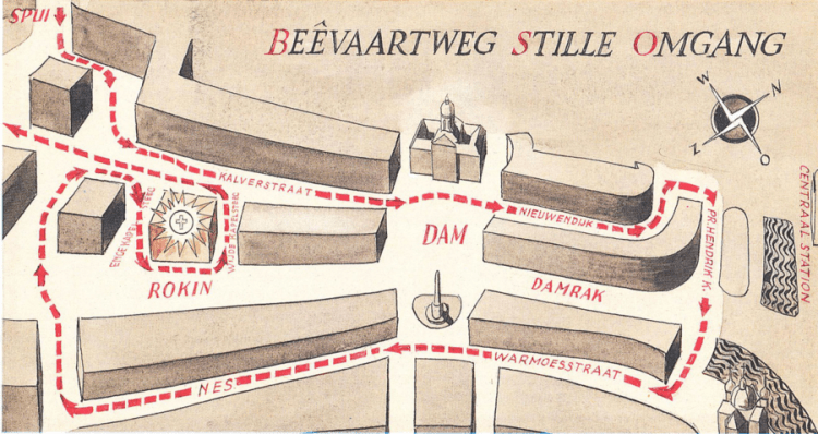 Route Stille Omgang Amsterdam