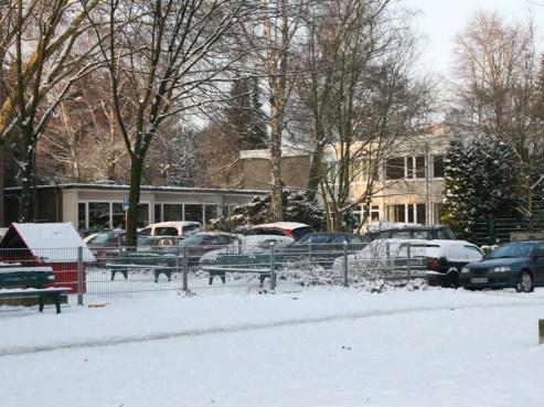 Apostelplatz und Kindergarten, 07.01.2010, © Beate Sachs