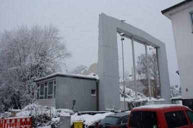 Stillstand der Abrissarbeiten im Dezember 2010 © Thomas Boller