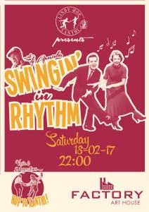 Swingin' in Rhythm, Xanthi, Feb 18, 2017.