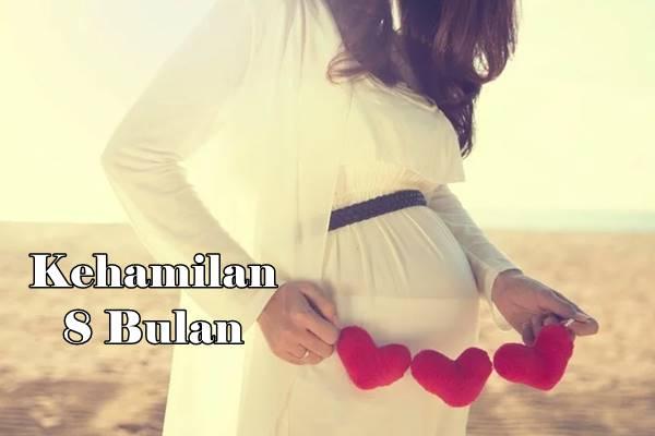 hamil 8 bulan persiapan melahirkan
