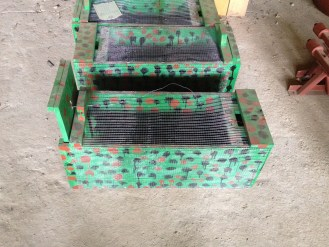New Humane traps and cages were developed and field tested by the Ministry of Agriculture, Center for Mechanization.