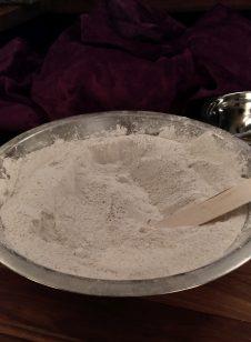 Freshly ground Frankincense powder