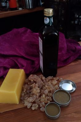 Frankincense Salves and cremes