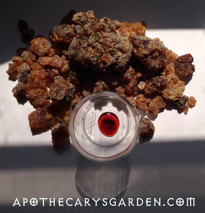Respiratory relief-Myrrh, DIY Chest rubs, www.apothecarysgarden.shop