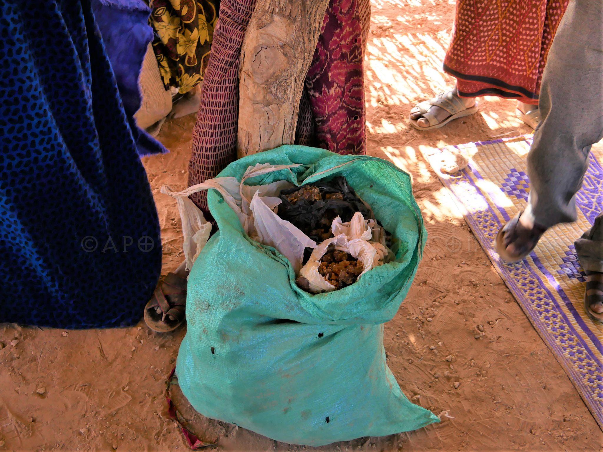 Freshly collected Myrrh-Godey, Somali Region Ethiopia