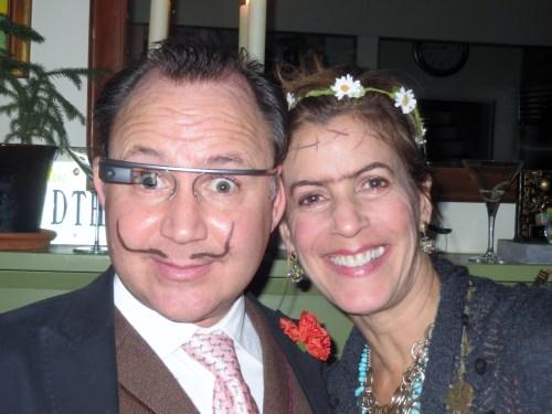 Our friends Salvador and Frida.