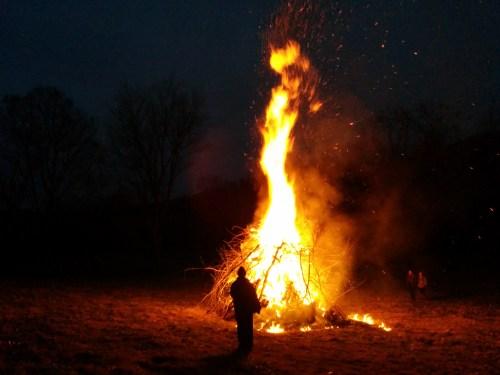 2014 winter solstice fire