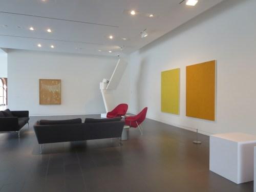 Even the lobby has art