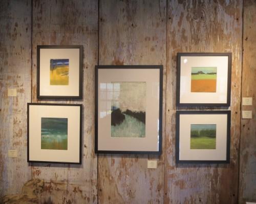 Tia Maggio's Show at Duvall Gallery