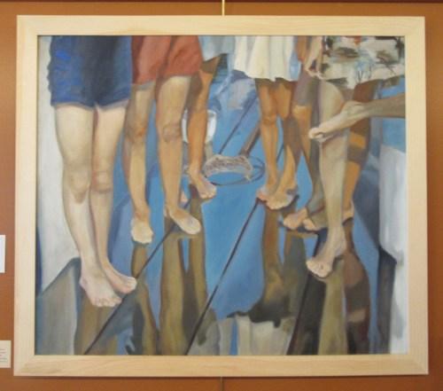 April Claggett paints history