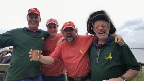 ARGH! Pirates party again.