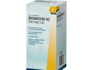 Broomhexine 4mg/5ml