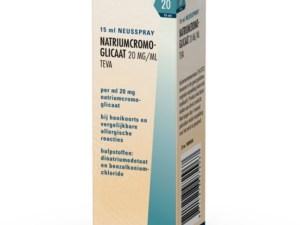 Natriumcromoglicaat 20mg/ml neusspray