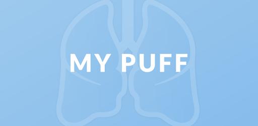 My Puff : nieuwe eenvoudige app voor uw inhalator