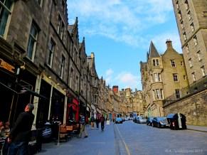 Cockburn street, Εδιμβούργο, Σκωτία, Βρετανία (Edinburgh - Cockburn street, Edinburgh, Scotland, UK).