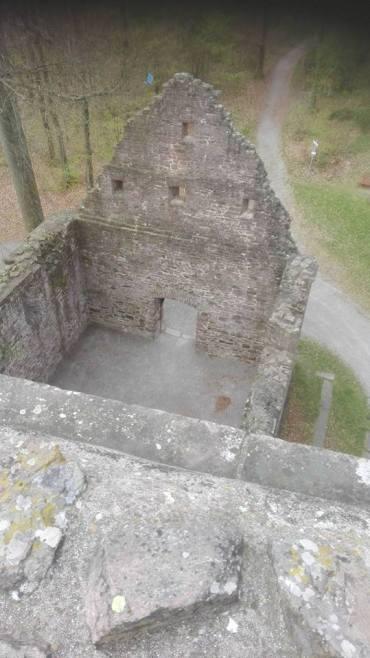 St. Barbara Capella Ruins, Lagensteinbach, Germany