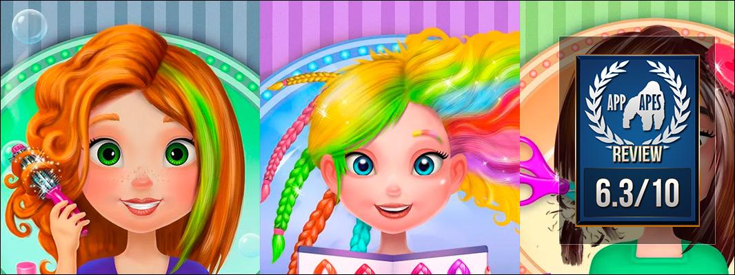 Crazy Hair Salon Girl Makeover Review