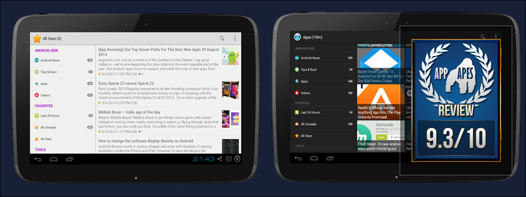Android Geek | Feedly | RSS Review