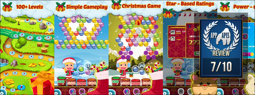Frizzy: Christmas Bubble Shoot Review