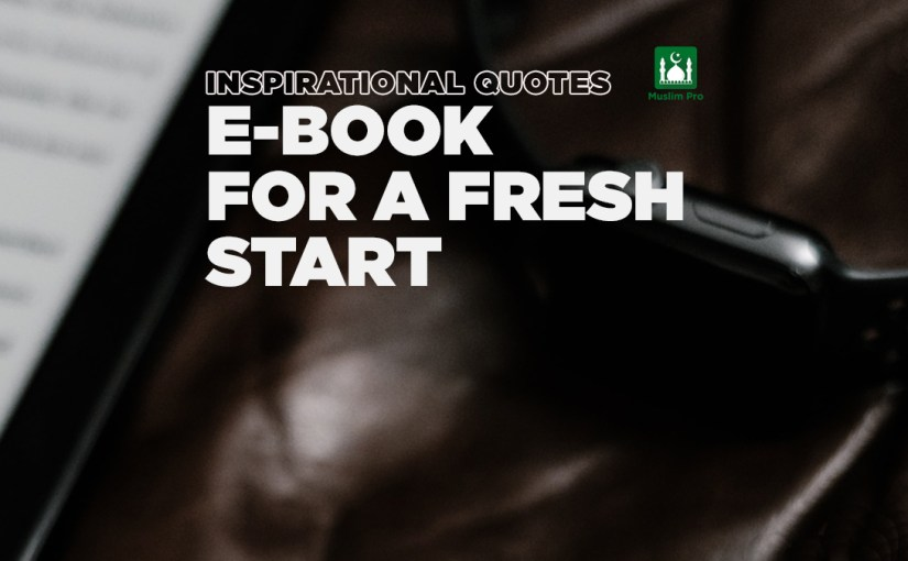 (eBook) Inspirational Quotes For A Fresh Start