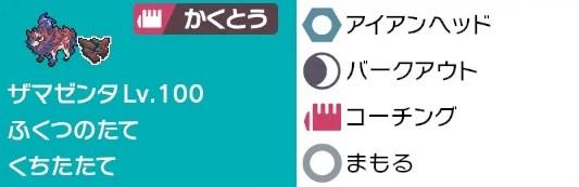 ザマゼンタ 技構成 レイド