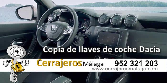 ¿Necesita una copia de llave Dacia en Málaga?