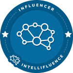 Lesa Rumbalski's Intellifluence Influencer Badge