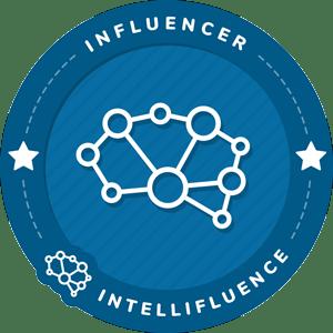 Mathieu BOINET's Intellifluence Influencer Badge