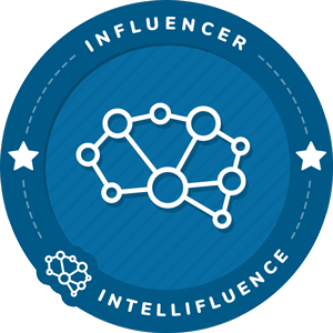Jasmine Dedomo's Intellifluence Influencer Badge