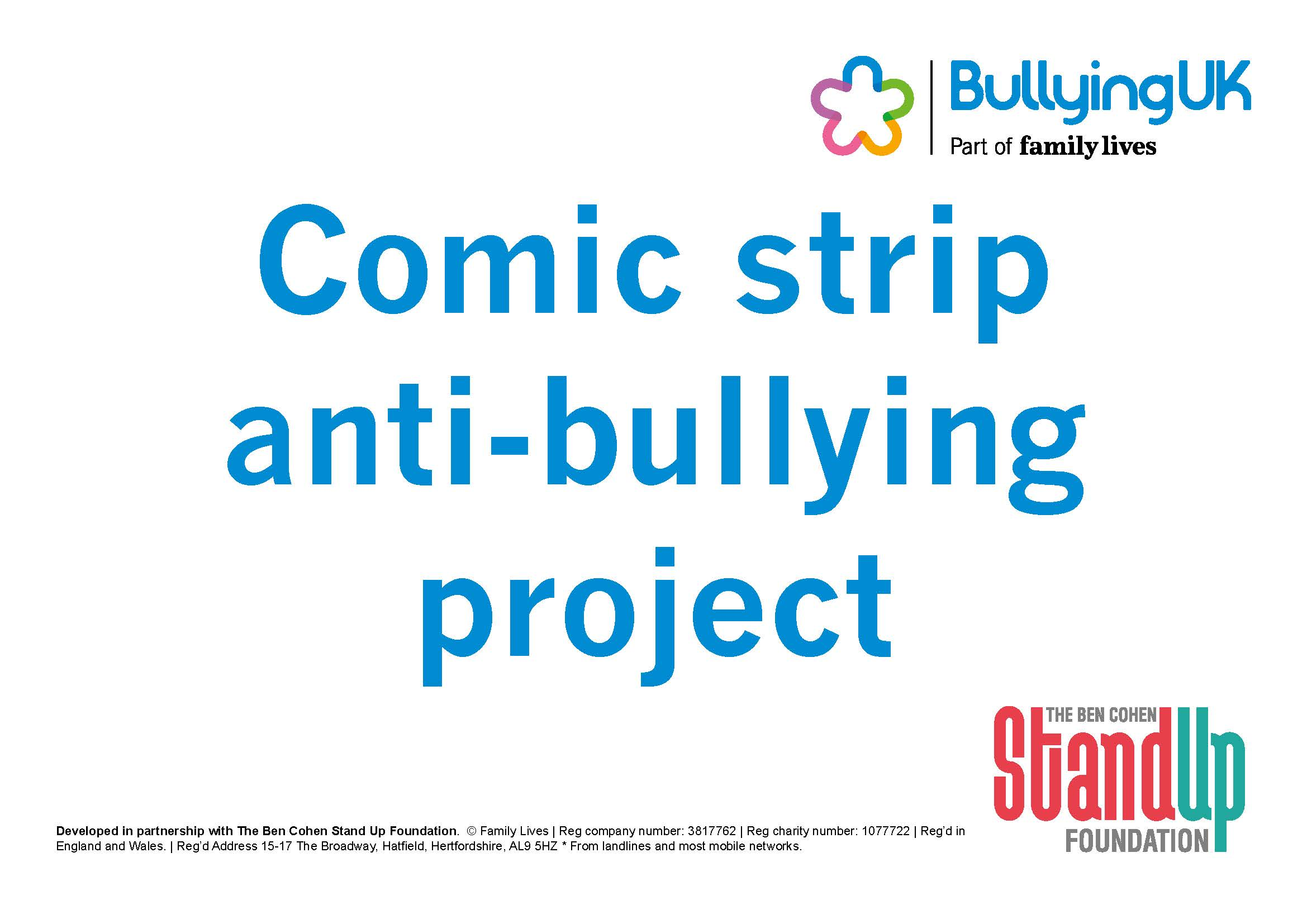 Big Ideas For C Amp Yp Bullying Intervention Group