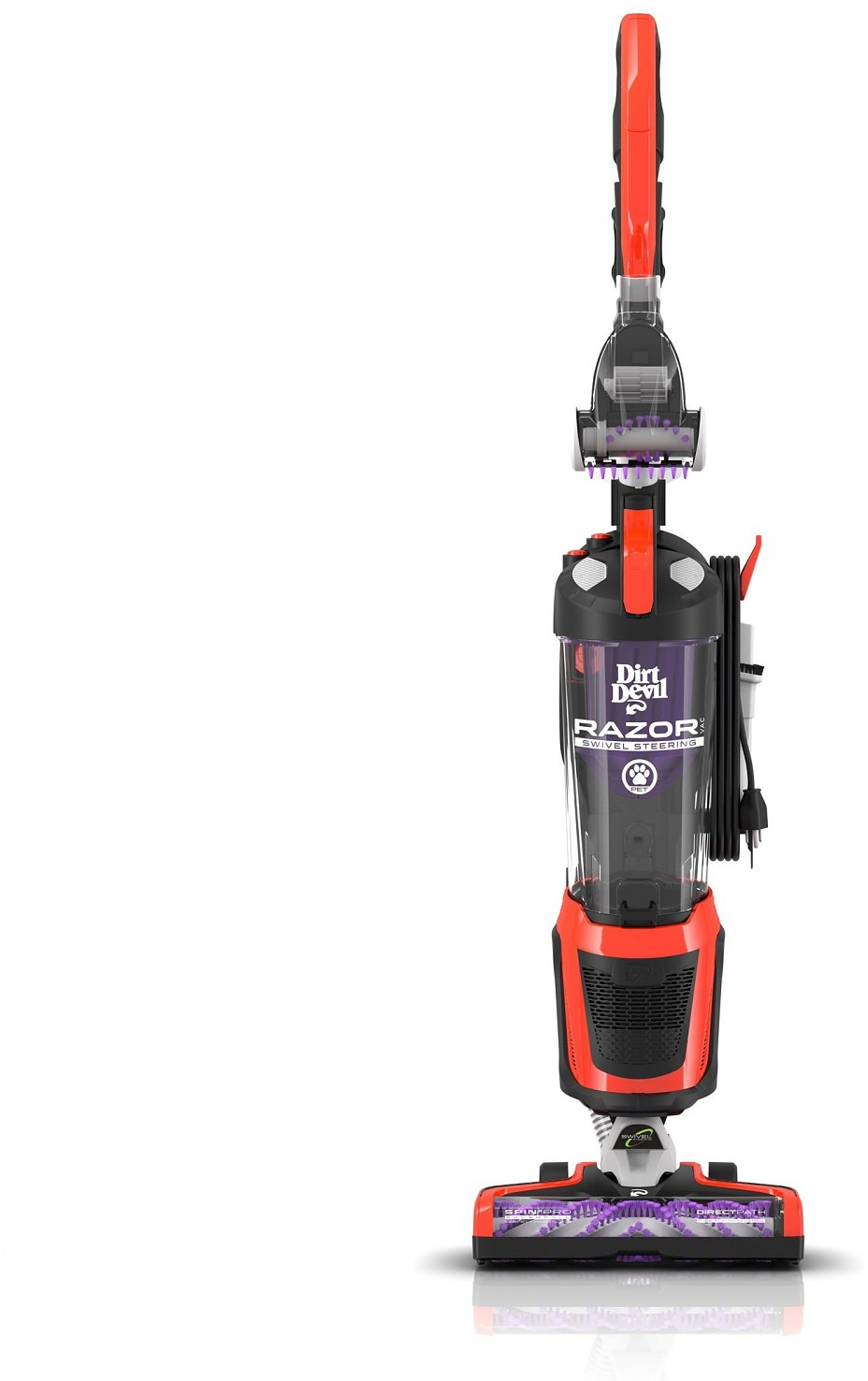 Dirt Devil Razor Pet Bagless Upright Vacuum Ebay