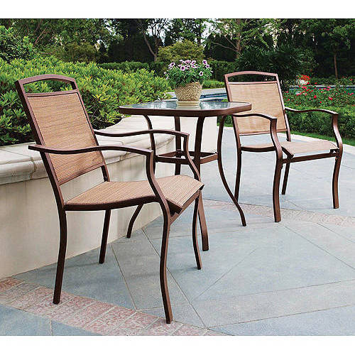 details about 3 pc counter height bistro set tall high patio outdoor dining table stools bar