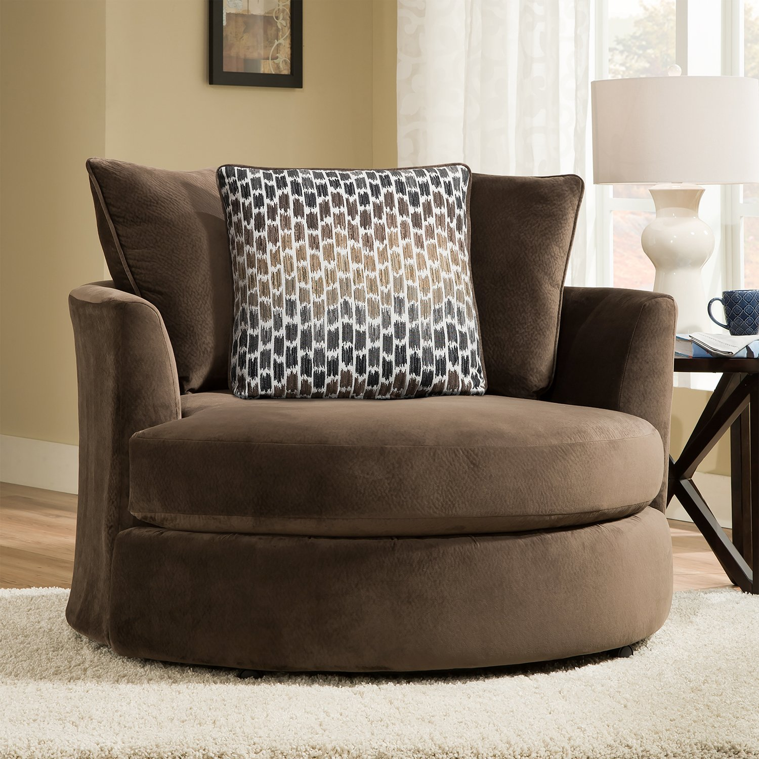 Ideas About Oversized Round Swivel Chair Pabps2019 Chair
