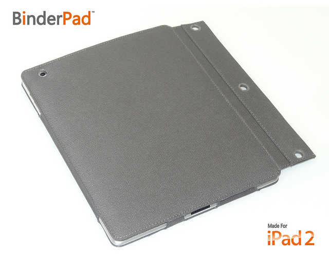 ZooGue's iPad 2 BinderPad Pouch Offers An Ideal Case Solution For Binder Carrying Students