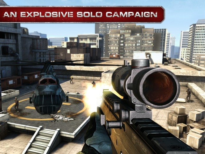Modern Combat 3: Fallen Nation Is Chock-full Of Pulse Pounding Action
