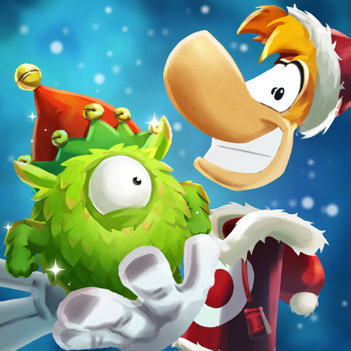 Deck Rayman and Barbara In Festive Gear This Christmas