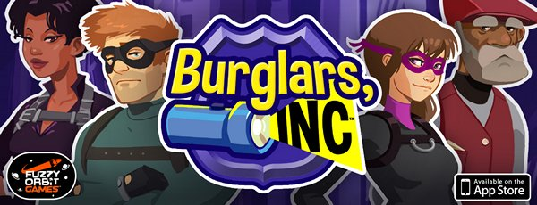 Defeat Corruption By Stealing Its Stuff In Unique iOS Puzzler Burglars, Inc.