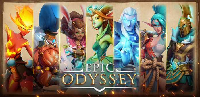 Epic Odyssey is an Open World Strategy-RPG with Gacha Summons and Resource Management