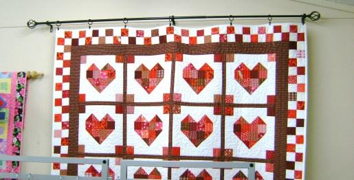 98 - Kim McKee - heart quilt