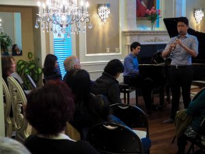 Jack Li, clarinet and Scott Meek, piano (Music Friends past event)