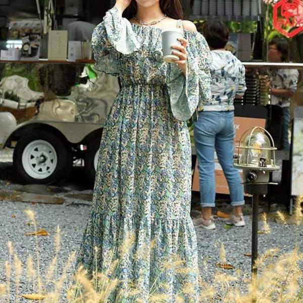 Rowena Floral Dress