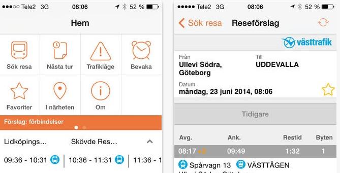 Västtrafik app – Ladda ner den gratis