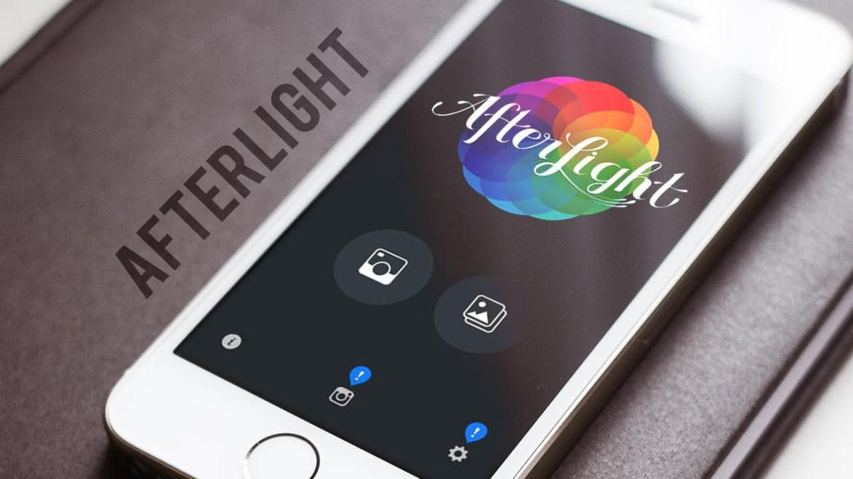 Afterlight för proffsredigering av dina Instagrambilder
