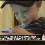 2-åring använde FaceTime och räddade sin mammas liv