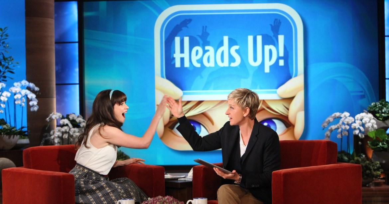 """Ellen Degeneres """"Heads Up"""" – en succé"""