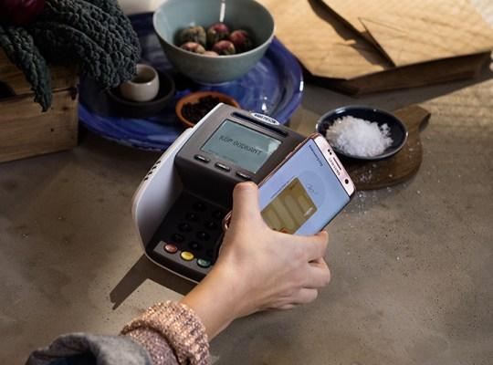 Samsung Pay med Terminal